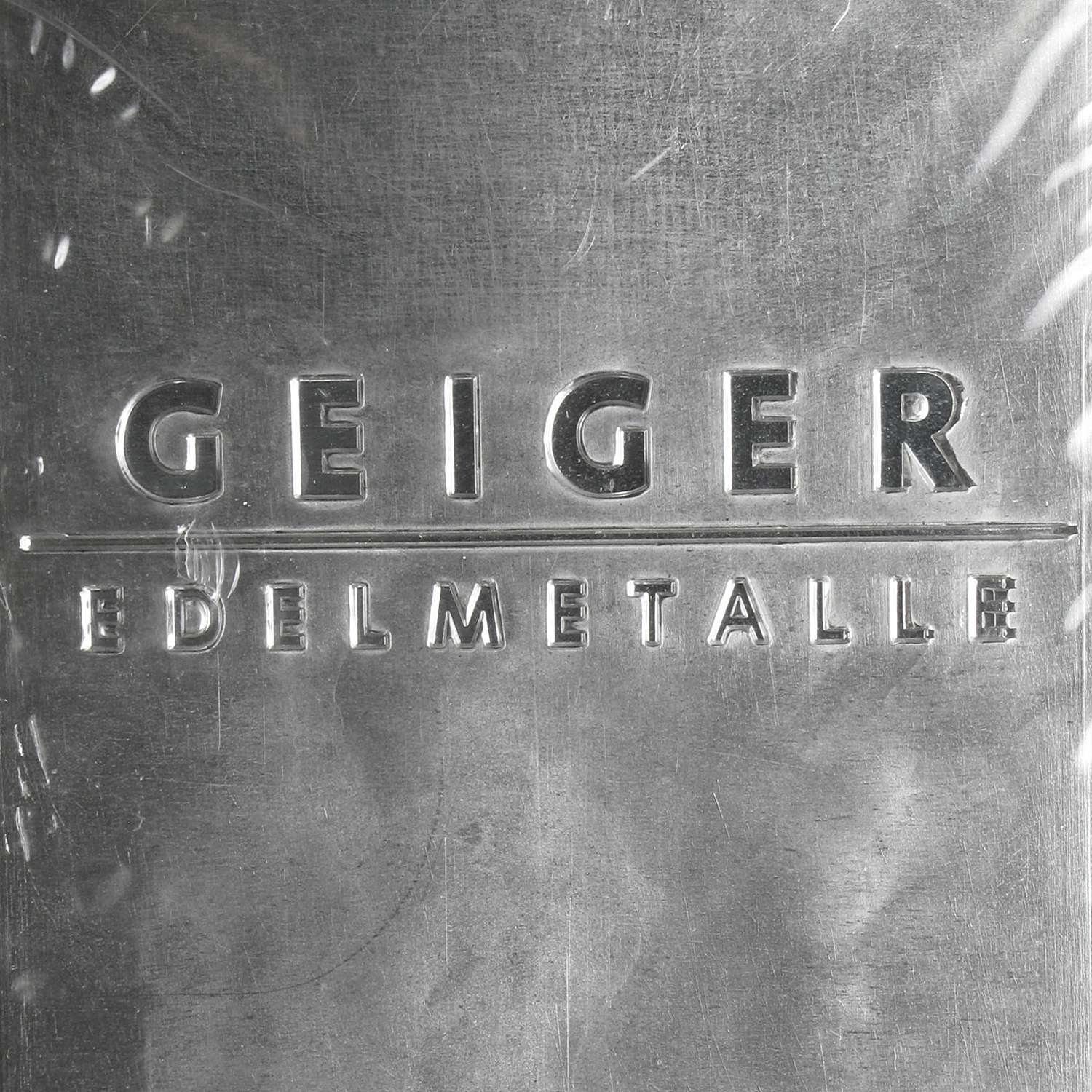 5000 gram Silver Bars - Geiger (Security Line Series/Scruffy)