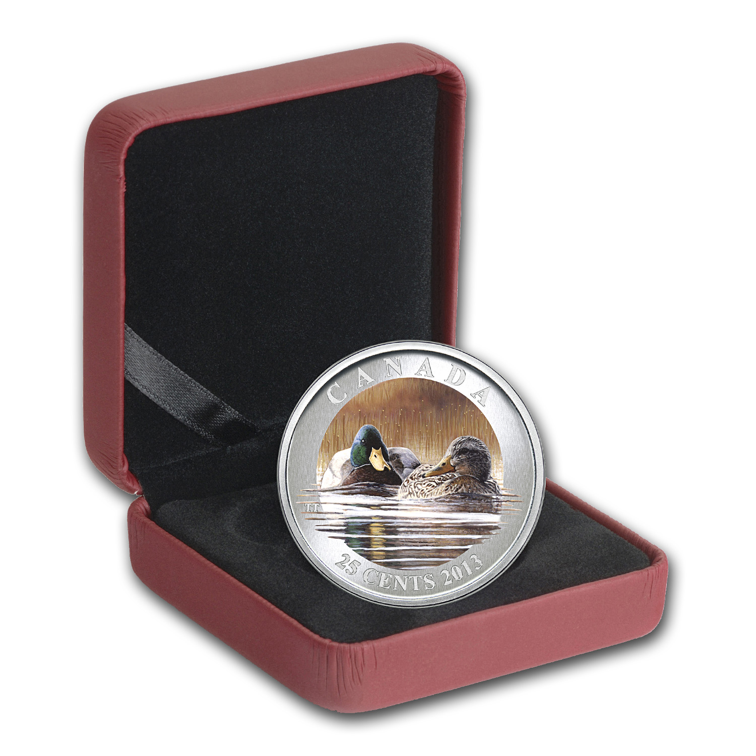2013 Ducks of Canada $0.25 Mallard (Colored)