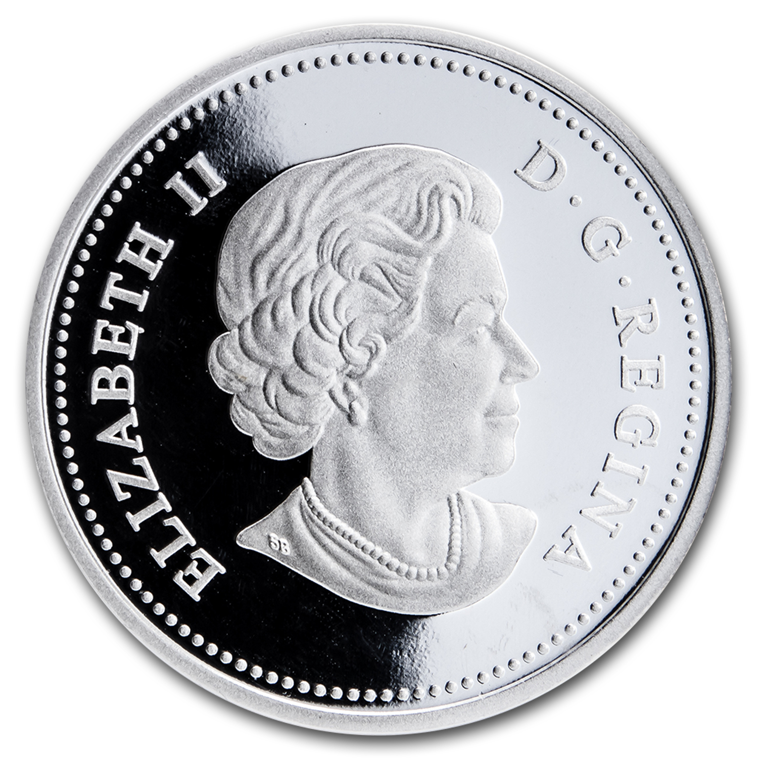 2013 1 oz Silver Canadian $20 – Johnston's Guardian of the Gorge