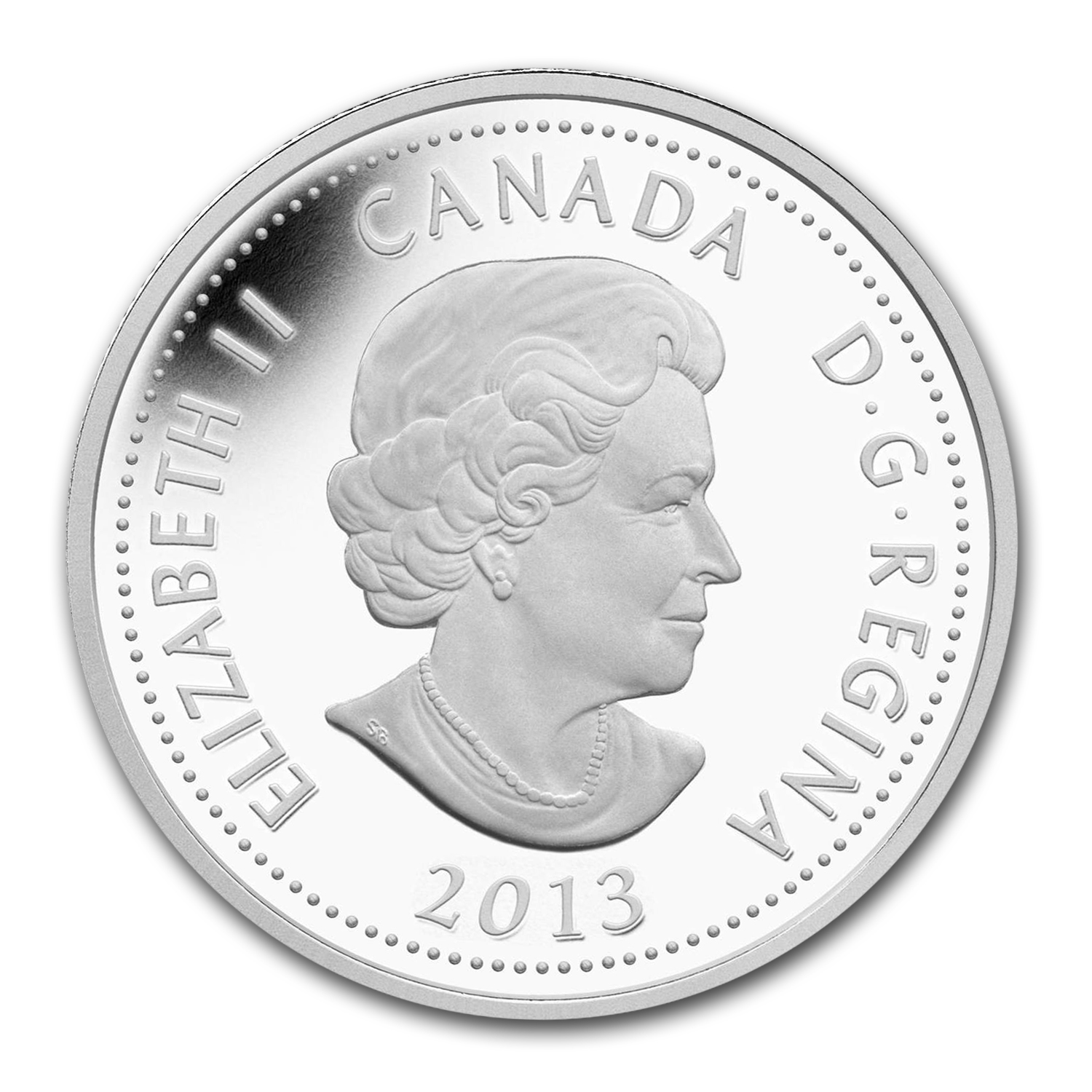 2013 Canada 1/4 oz Silver $4 Heroes of 1812 de Salaberry