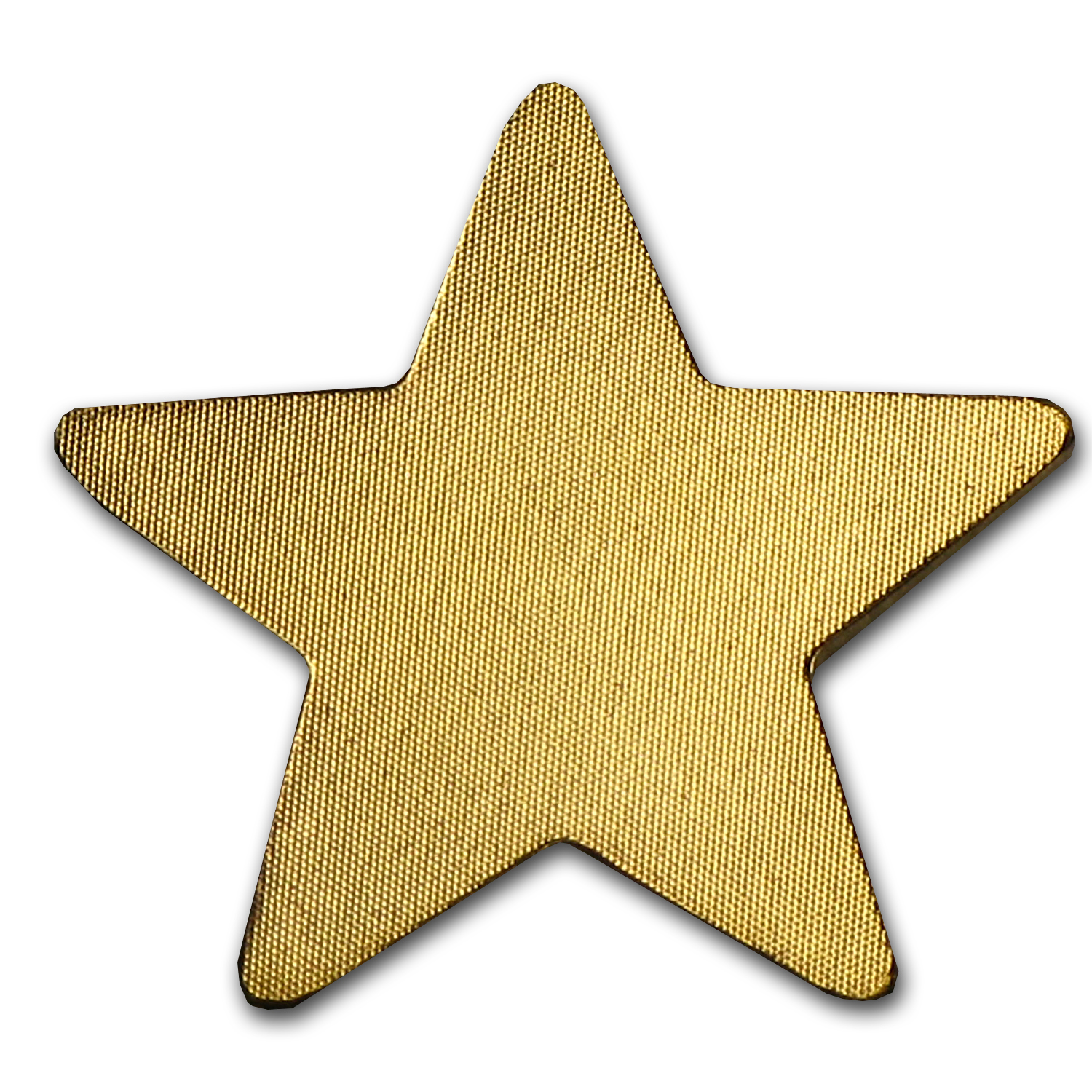 Palau 1/2 gram Gold $1 Lucky Star Coin