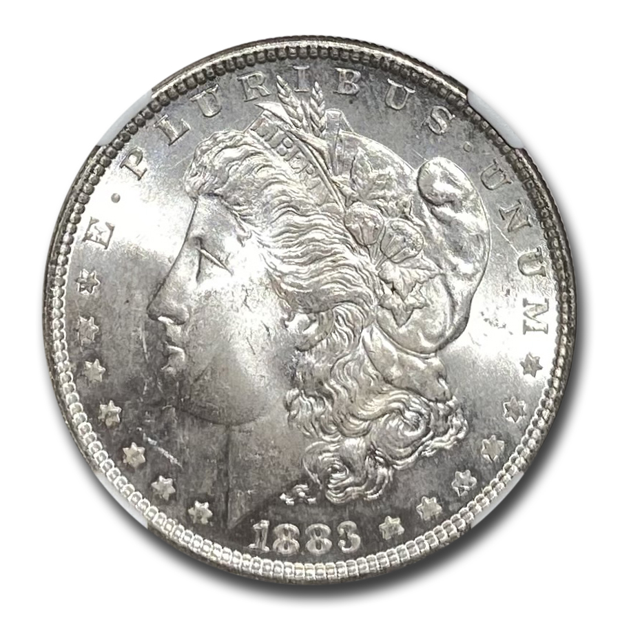 1883 Morgan Dollar MS-64 NGC