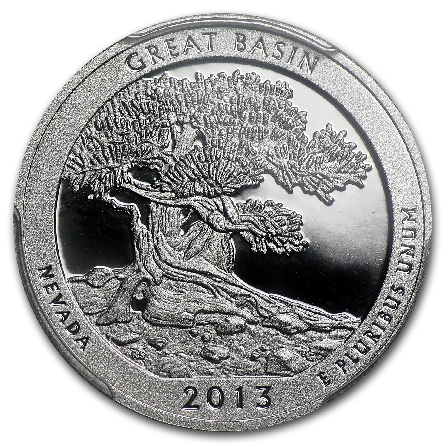 2013-S Silver Proof Quarter ATB Great Basin PR-70 DCAM (FS)