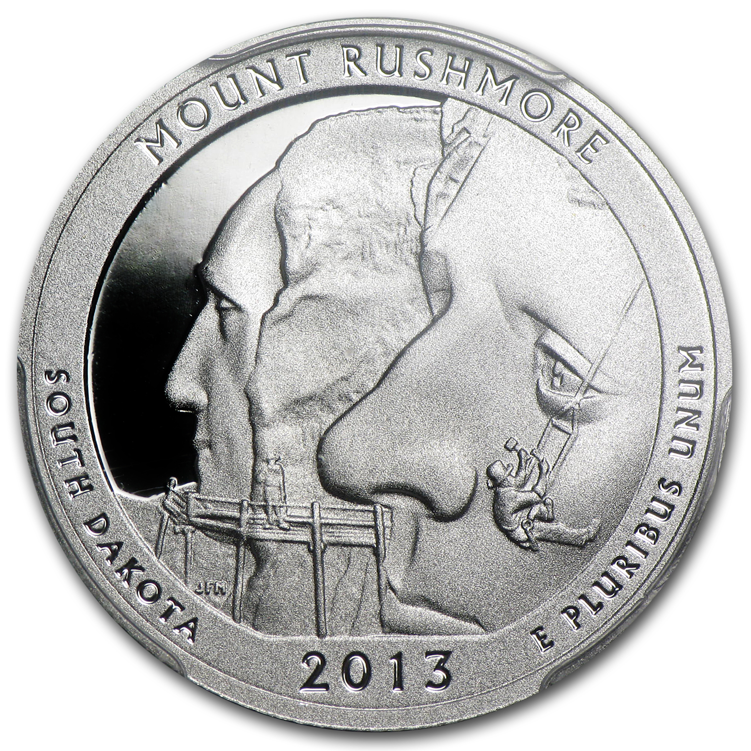 2013-S Silver Proof Quarter ATB Mount Rushmore PR-70 DCAM (FS)