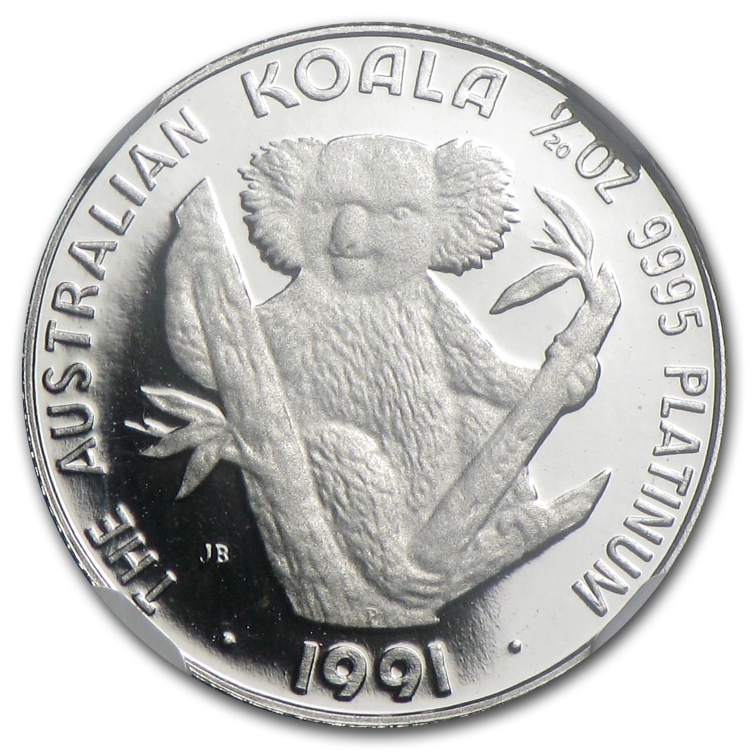 1991 Australia 1/20 oz Proof Platinum Koala PF-69 NGC