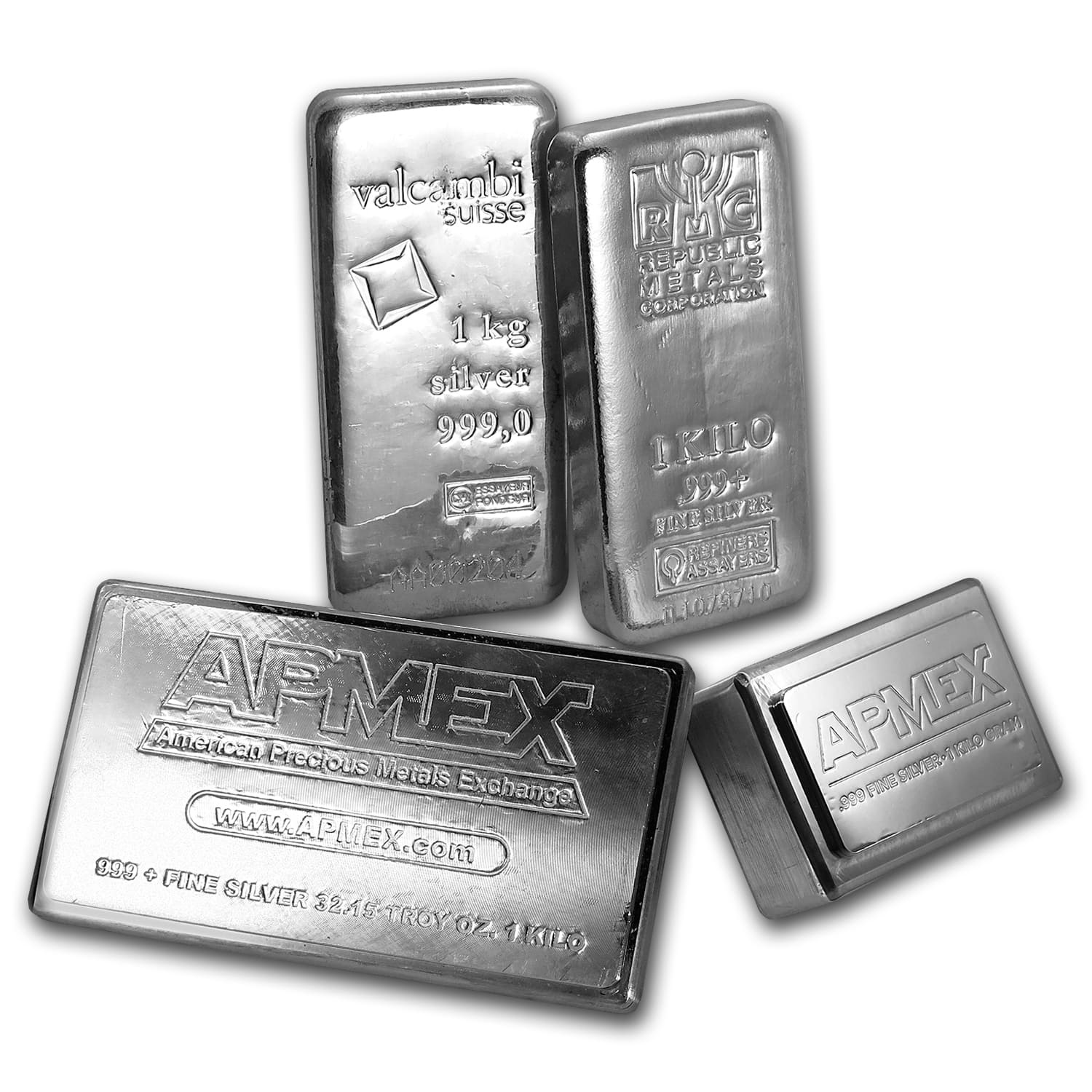 1 Kilo Silver Bars - Secondary Market