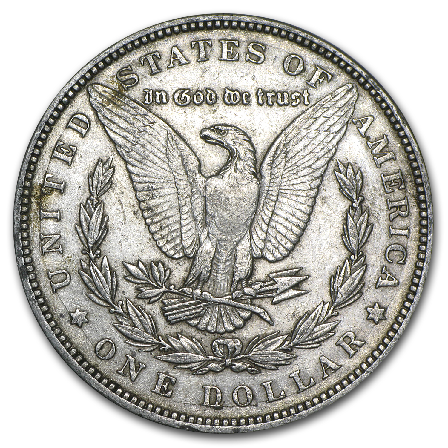 1887 Morgan Dollar XF (VAM-1A, Donkey Tail, Top-100)