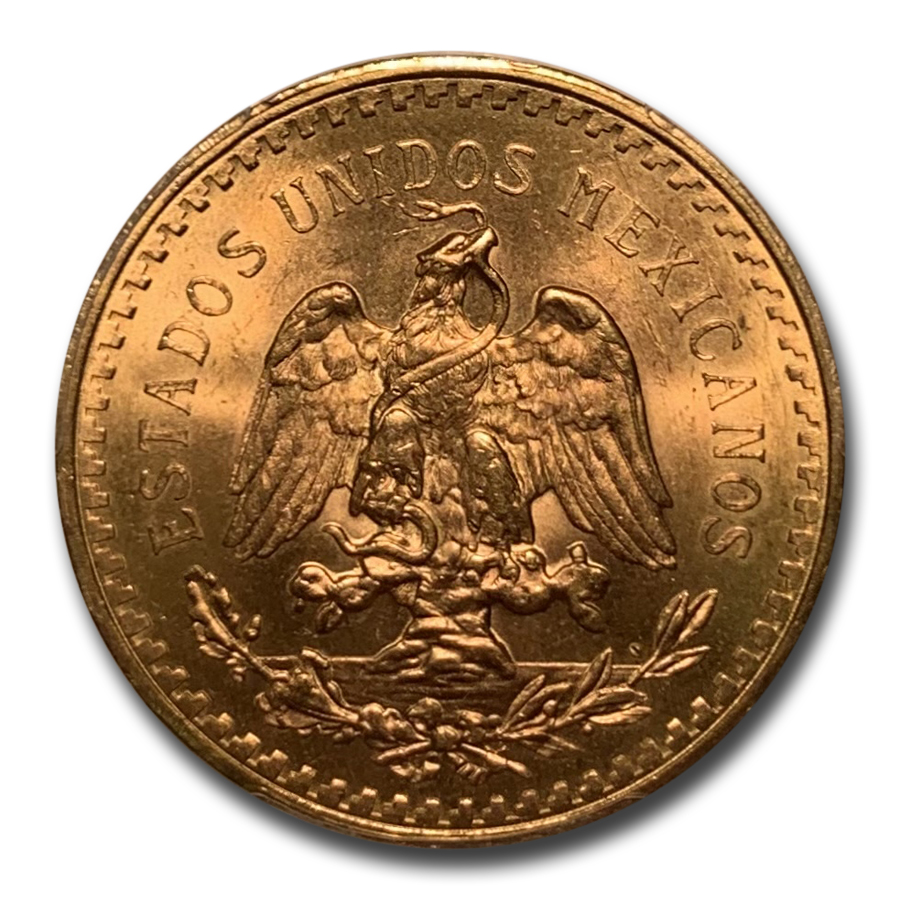 1944 Mexico Gold 50 Pesos MS-65 PCGS