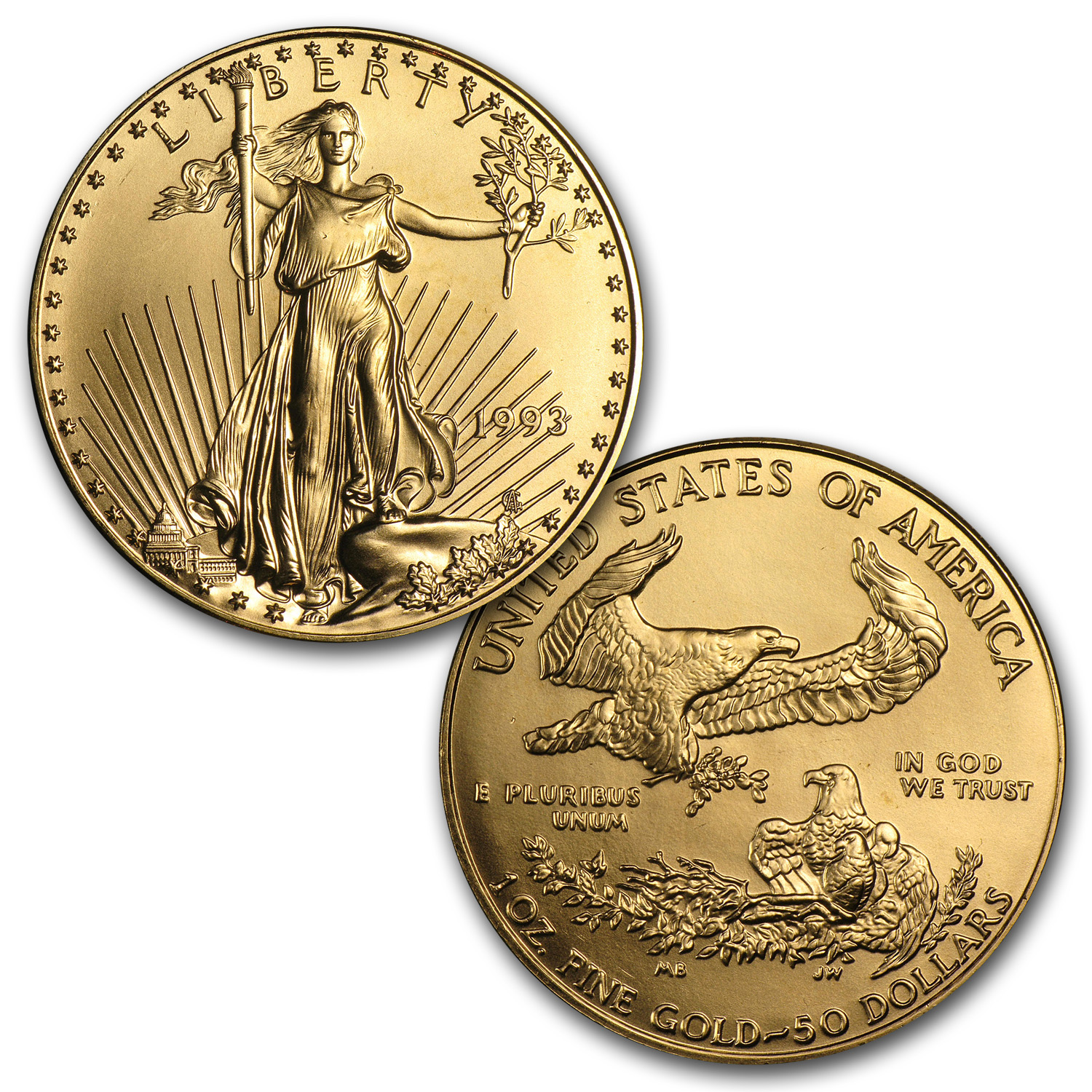 1986-2014 29-Coin 1 oz Gold Eagle Set BU