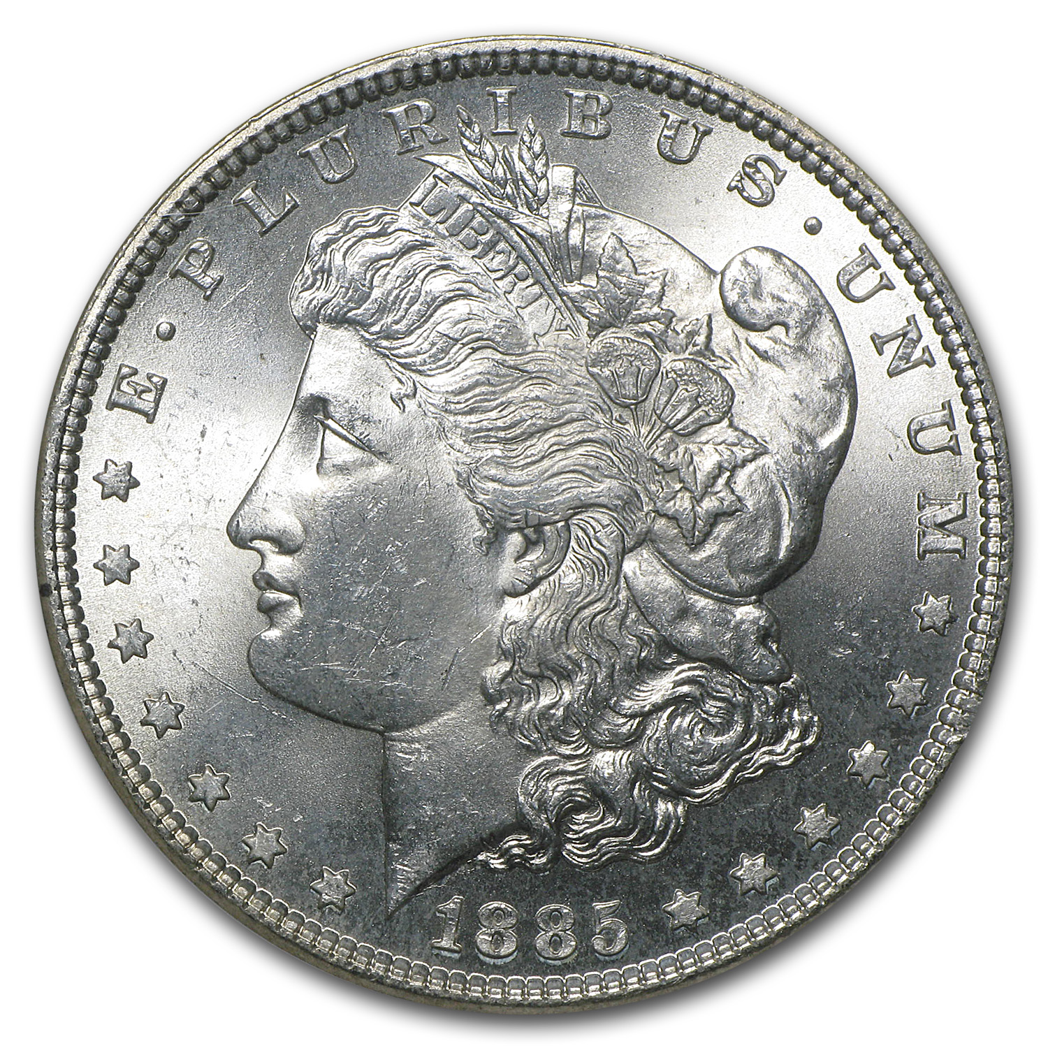 1885 Morgan Dollar MS-63 NGC
