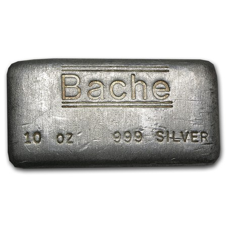 10 oz silver bar bache 10 oz silver bars apmex. Black Bedroom Furniture Sets. Home Design Ideas