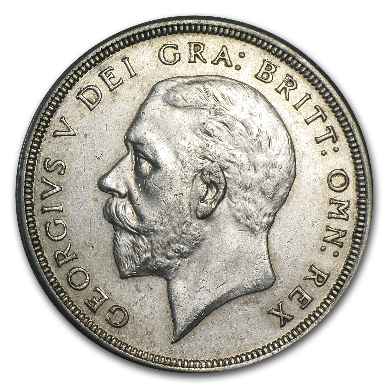 1930 Great Britain Silver Crown George V EF
