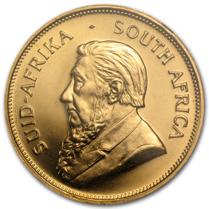 1973 South Africa 1 oz Gold Krugerrand MS-66 NGC