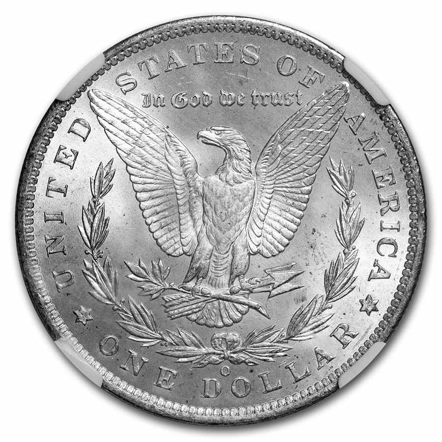 1885-O Morgan Dollar MS-66 NGC