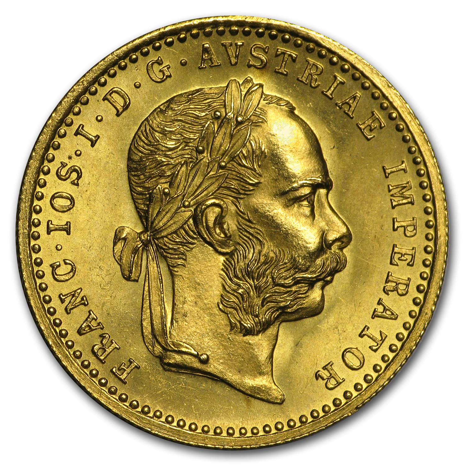 1880-1914 Austria Gold Ducat (Random Dates, No Restrikes)