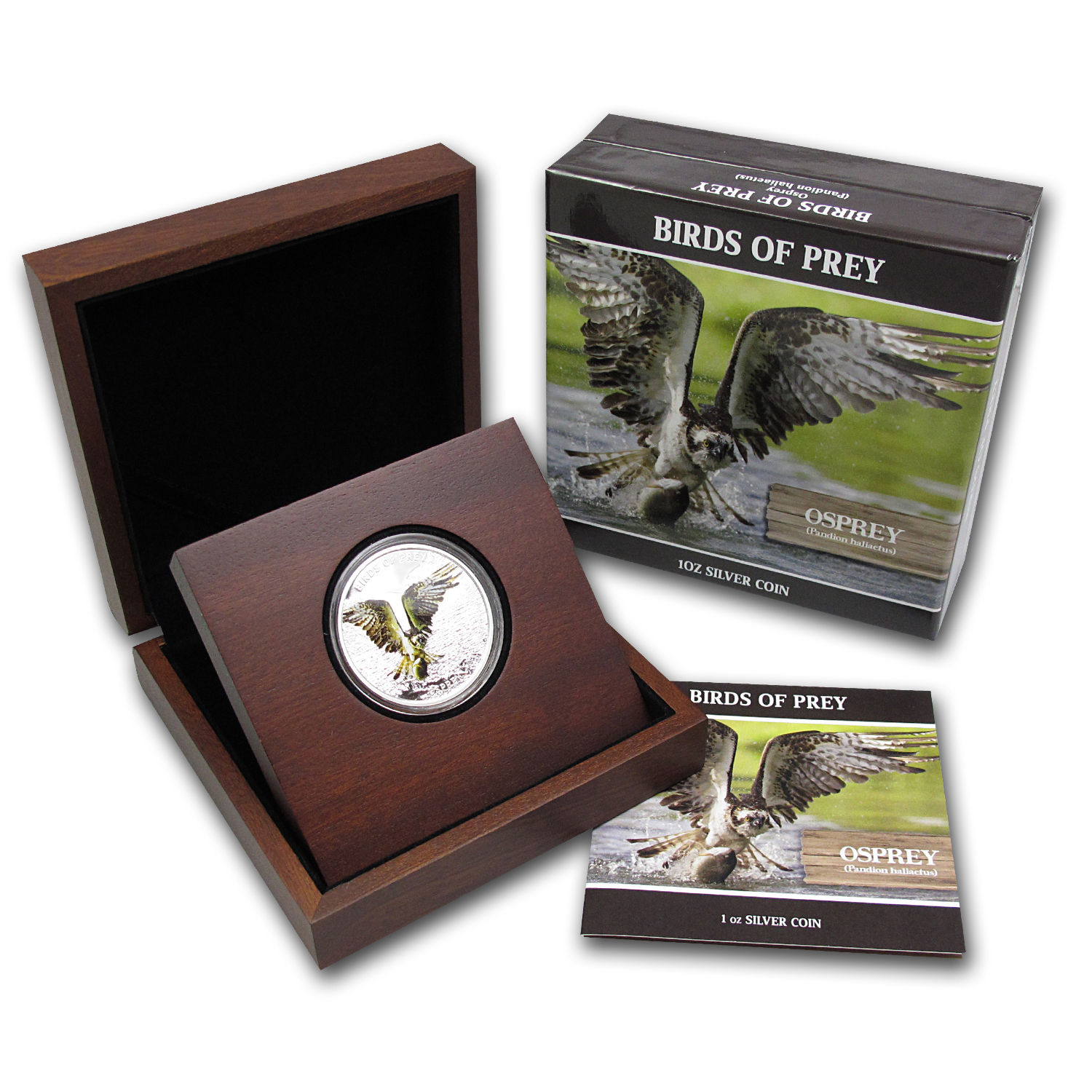 2013 Niue 1 oz Silver $2 Osprey Proof