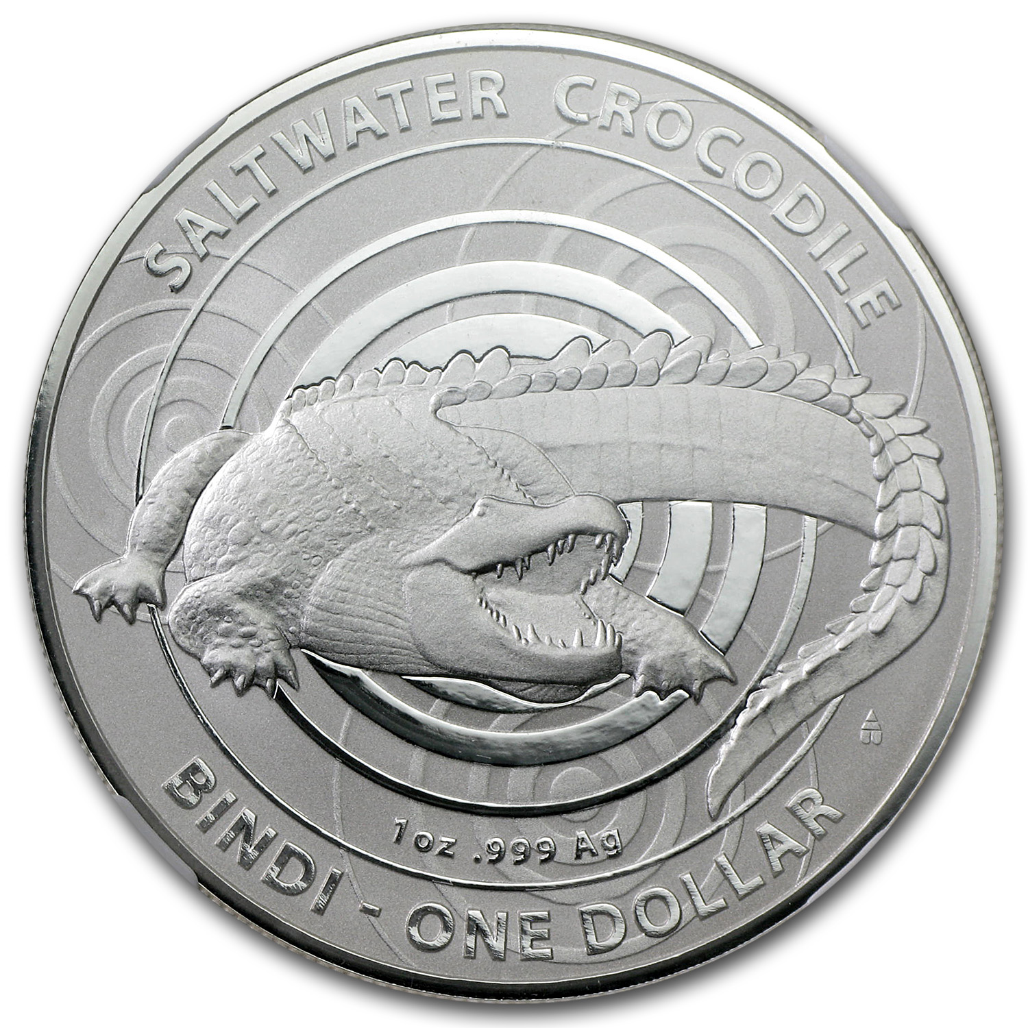 2013 Australia Crocodile Bindi MS-70 NGC