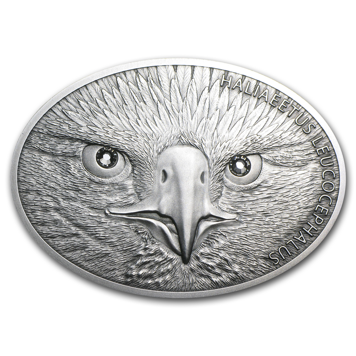 2013 Fiji 1 oz Silver $10 Fascinating Wildlife Bald Eagle