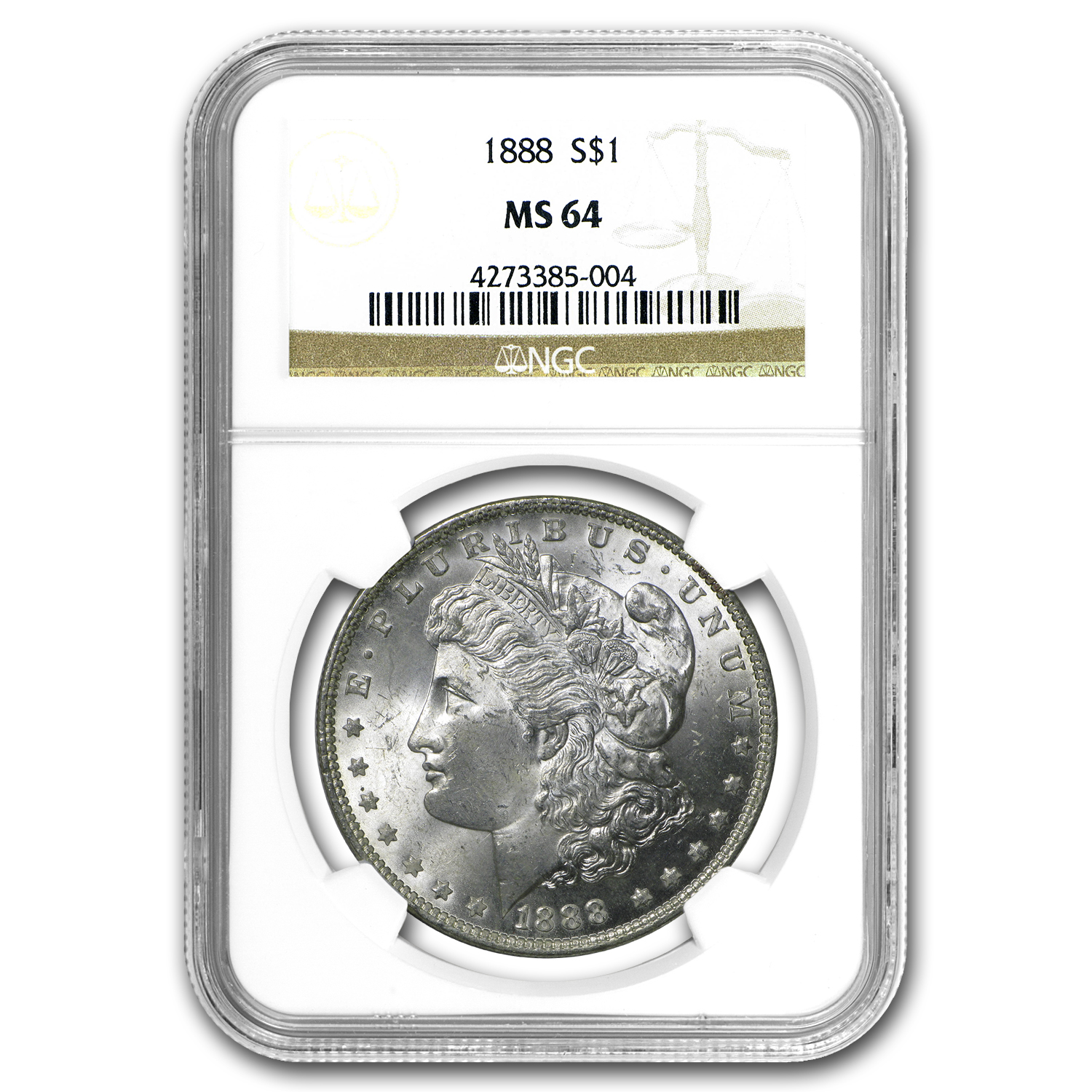 1888 Morgan Dollar MS-64 NGC