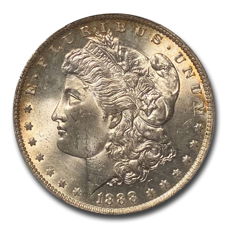 1888-O Morgan Dollar MS-64+ Plus PCGS