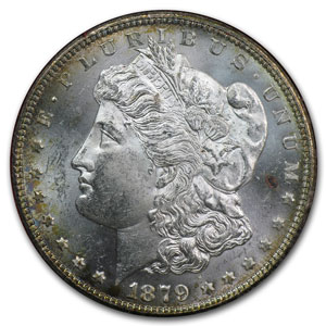 1879-S Morgan Dollar Rev of 1878 MS-65 (Paramount)