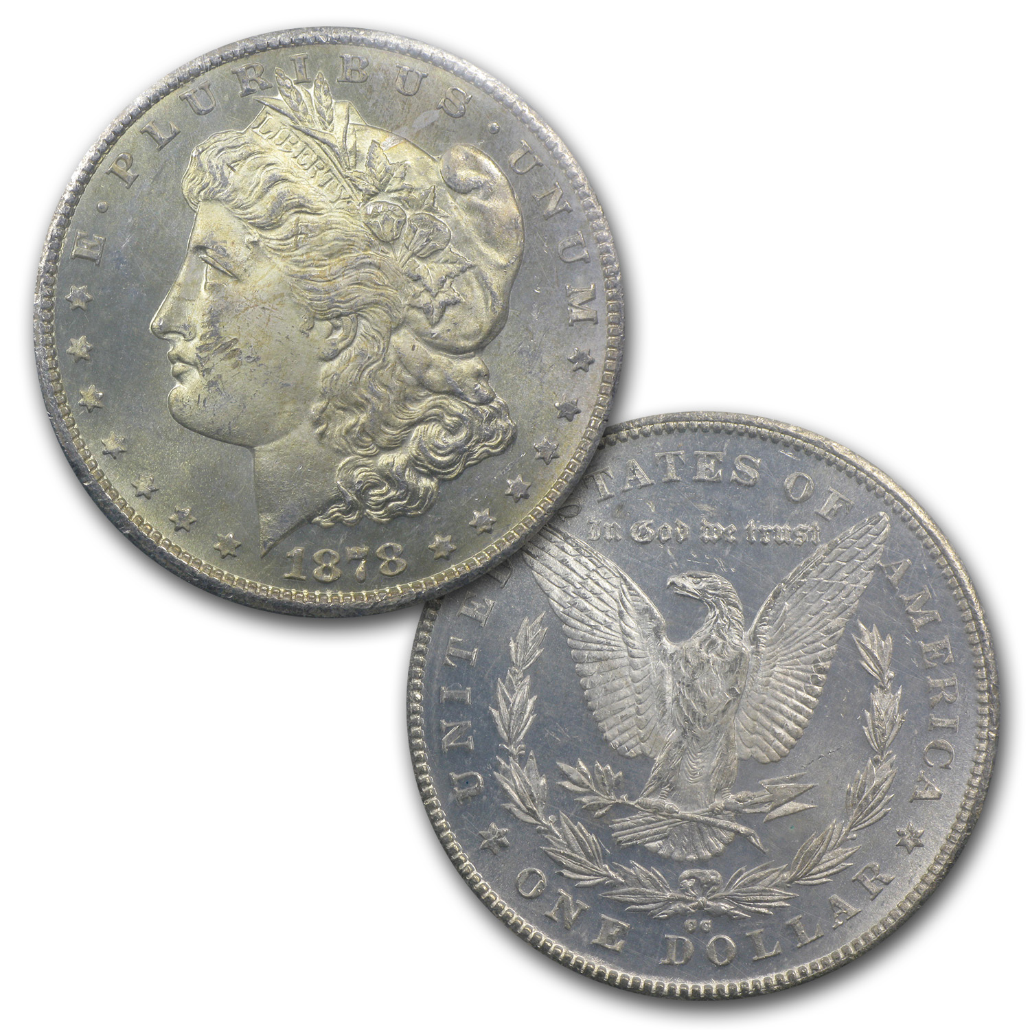 1878-CC Morgan Dollar MS-63 NGC (GSA Soft Pack)