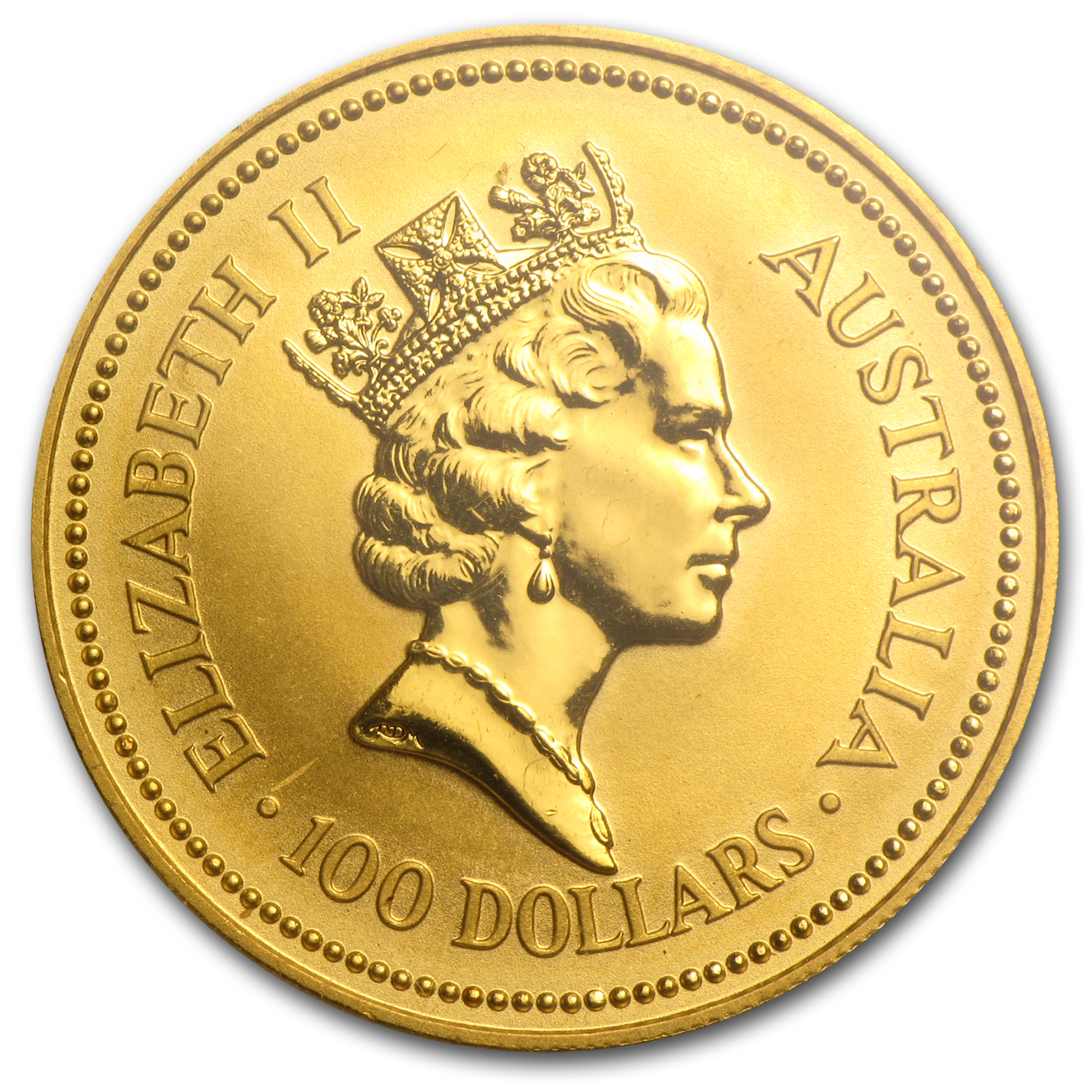 1992 1 oz Australian Gold Nugget