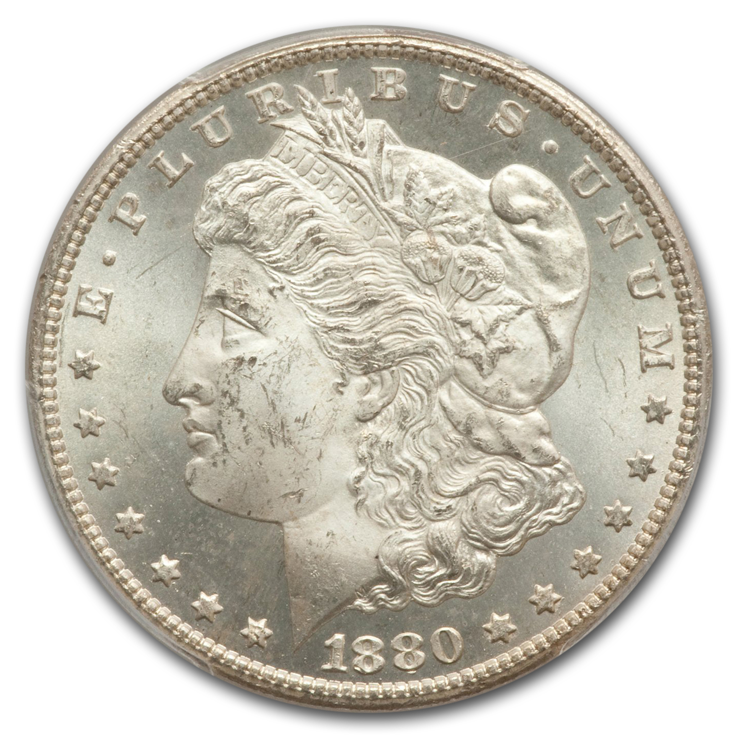 1880-CC Morgan Dollar MS-64+ Plus PCGS