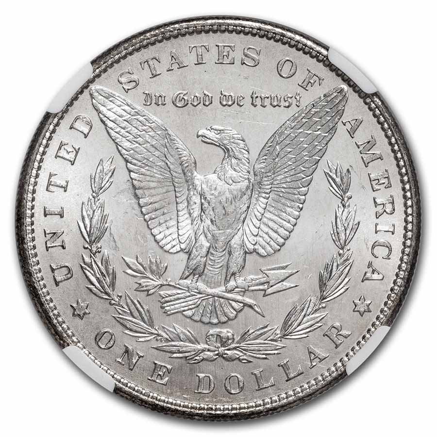 1898 Morgan Dollar MS-64 NGC