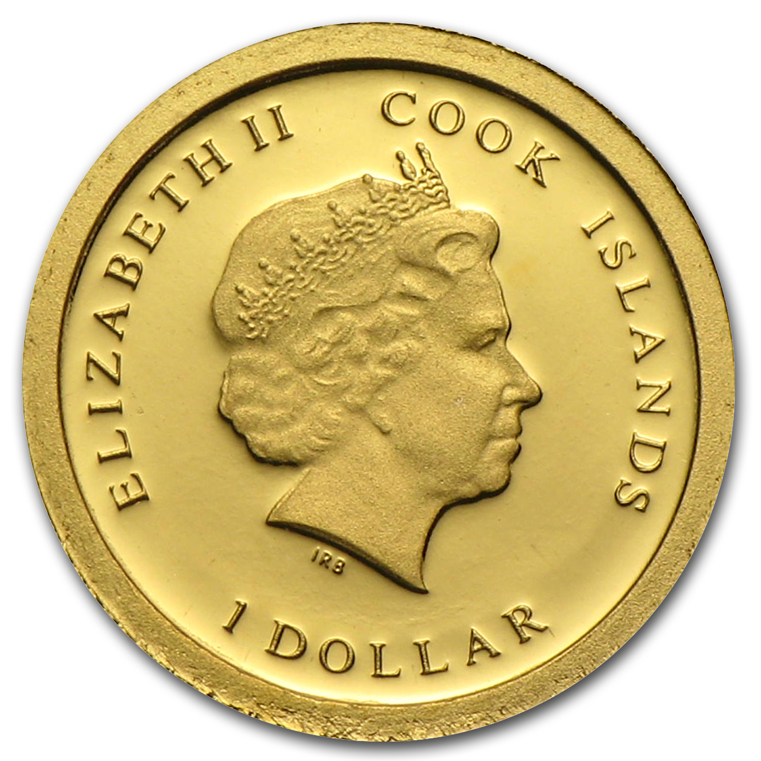 2013 Cook Islands Gold $1 Habemus Papam Franciscus