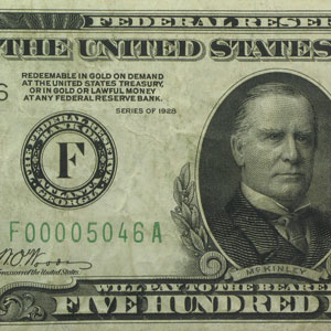 1928 (F-Atlanta) $500 FRN VF-30 EPQ PMG (Dark Seal)