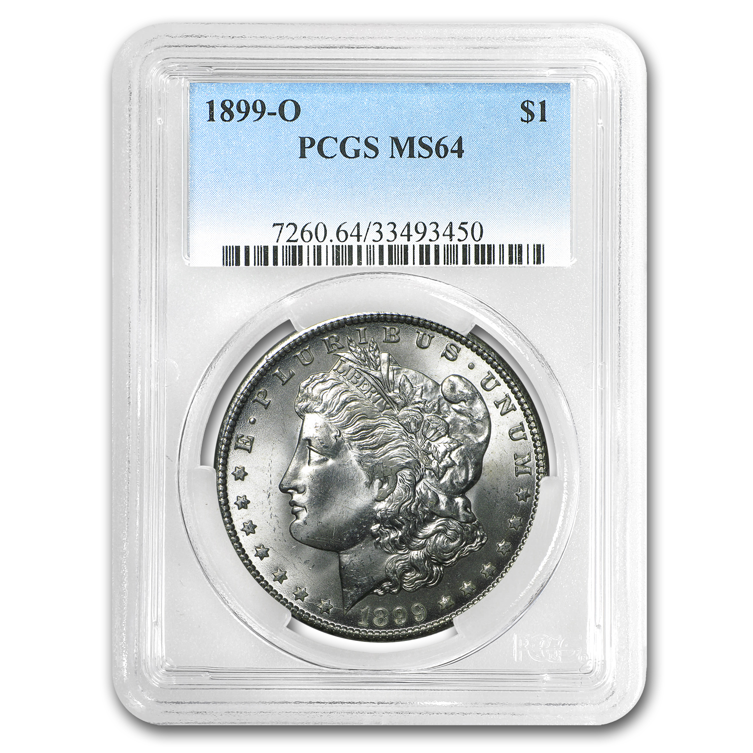 1899-O Morgan Dollar MS-64 PCGS