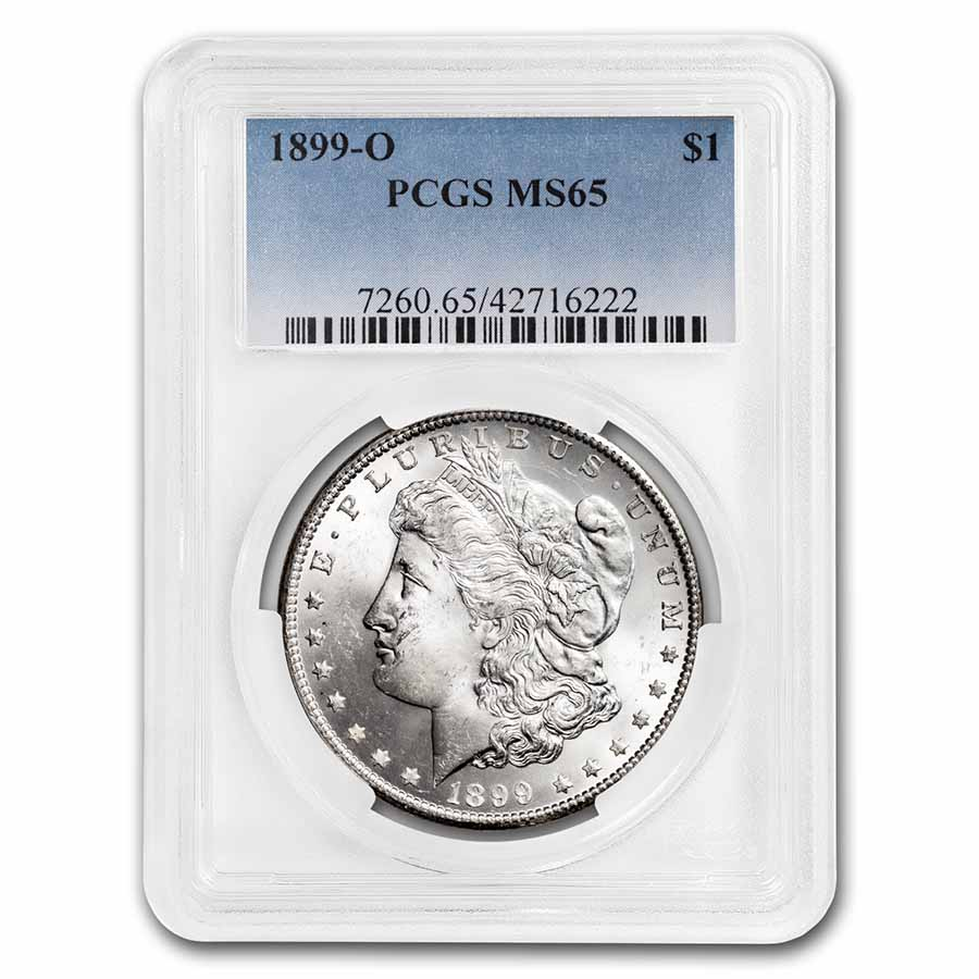 1899-O Morgan Dollar - MS-65 PCGS