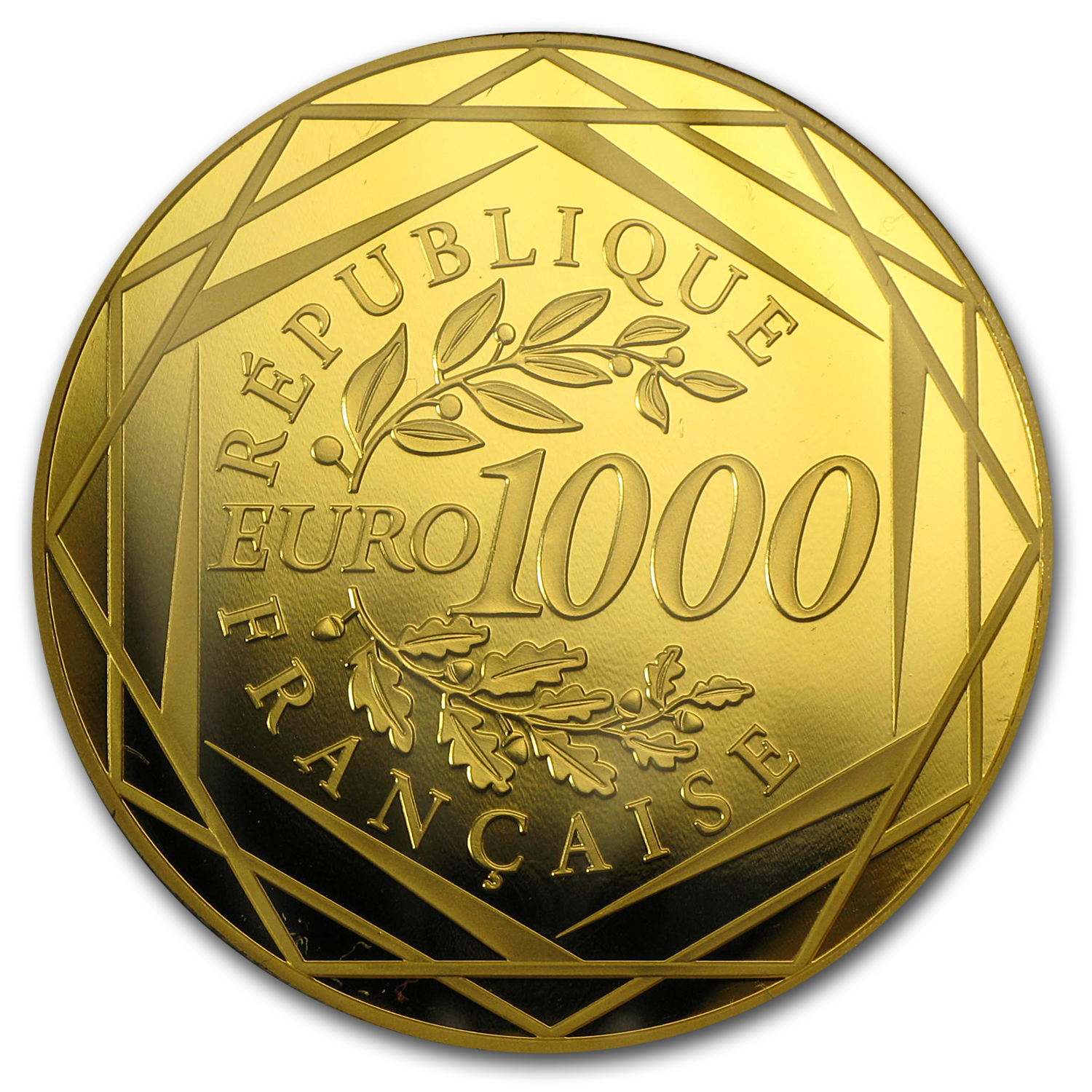 2013 Gold €1000 Hercules BU (Face Value Coin)