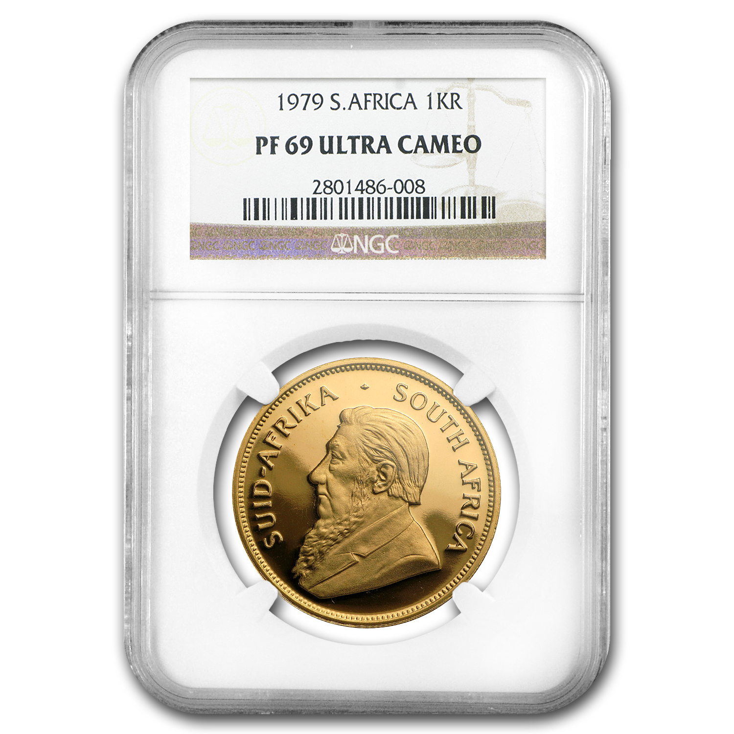 1979 1 oz Gold South African Krugerrand PF-69 NGC