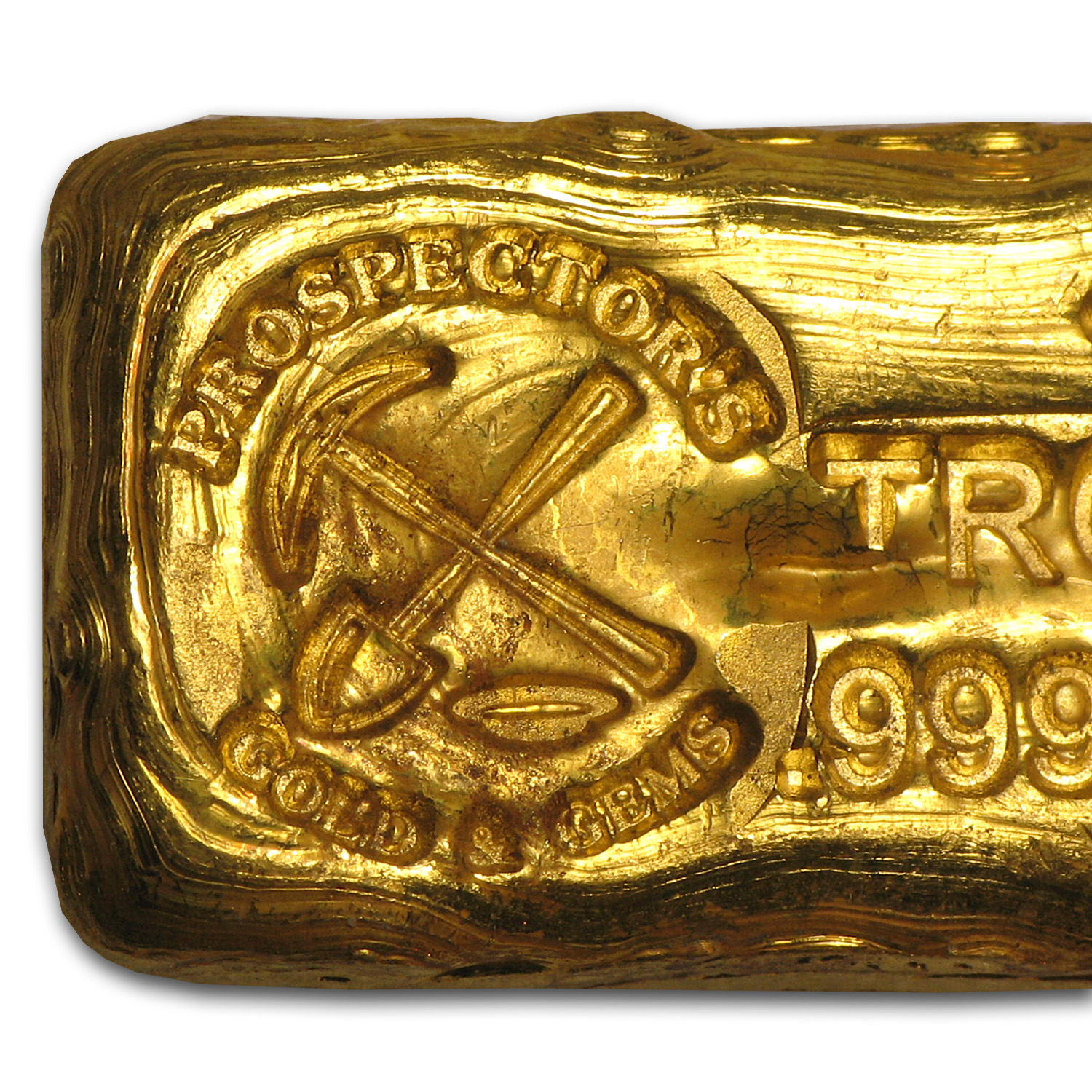 1 oz Gold Bar - Prospector's Gold & Gems