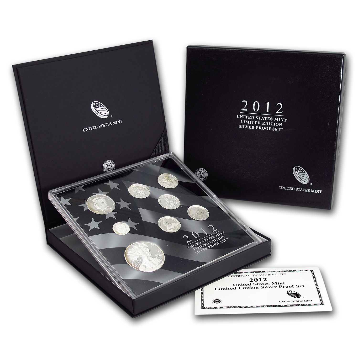2012 8-Pc Proof Silver Eagle Limited Edition Set