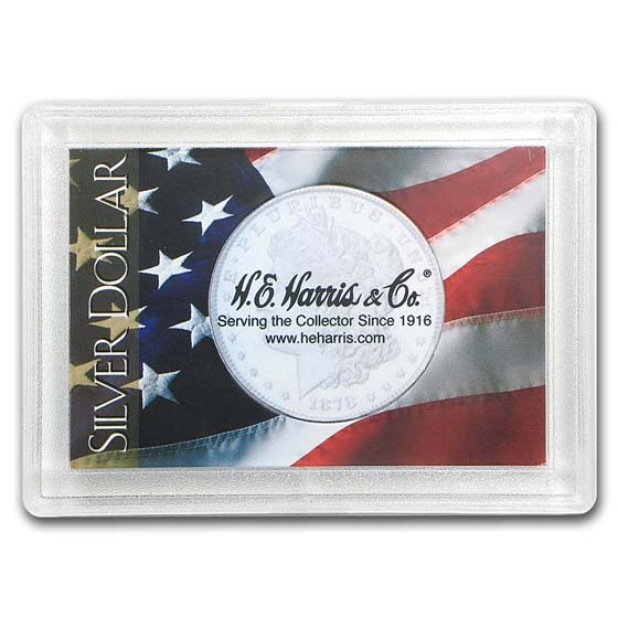 Silver Dollar Harris Holder (Flag Design)