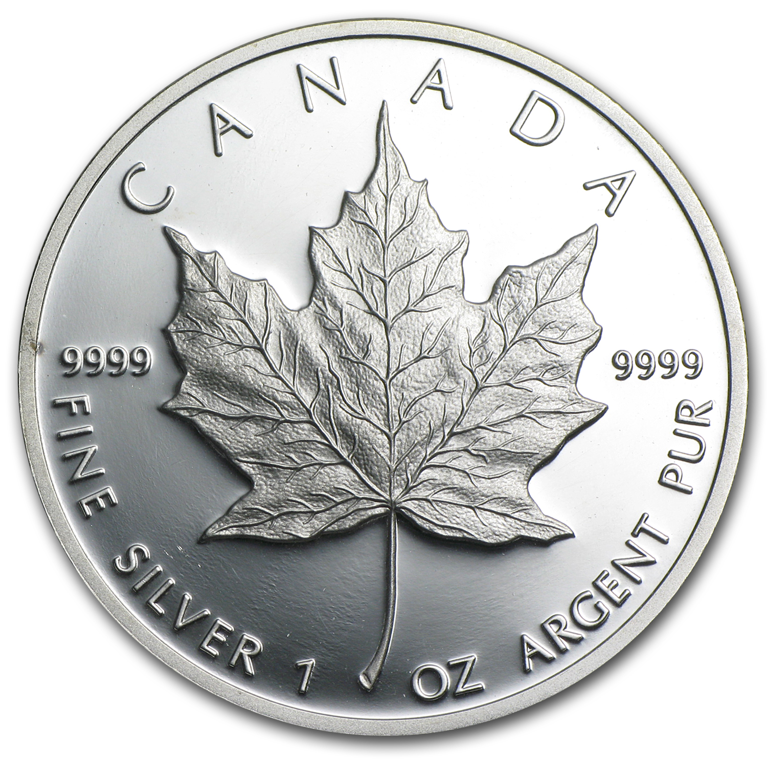 1989 Canada 1 oz Proof Silver Maple Leaf (No Box or COA)