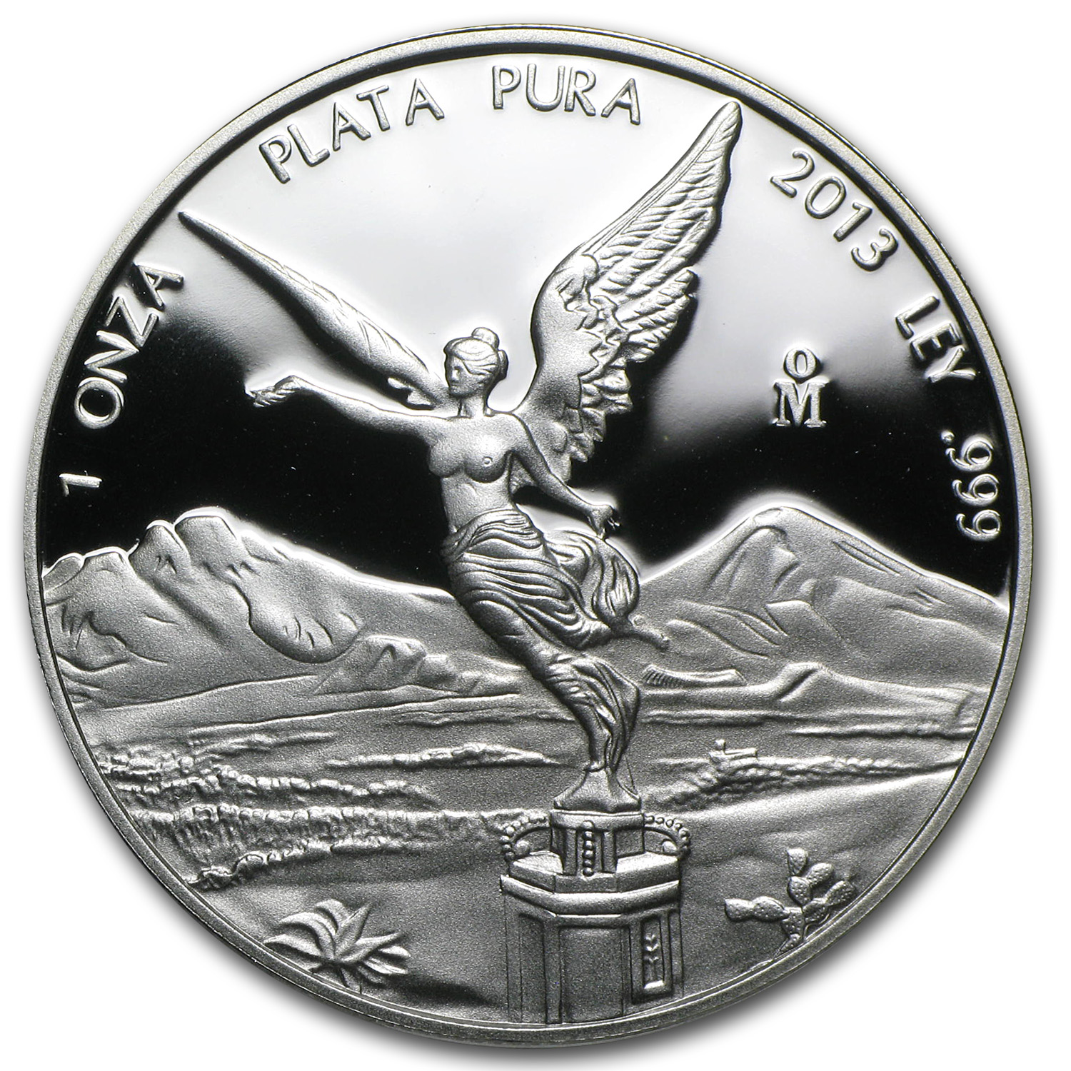 2013 Mexico 1 oz Silver Libertad Proof (In Capsule)