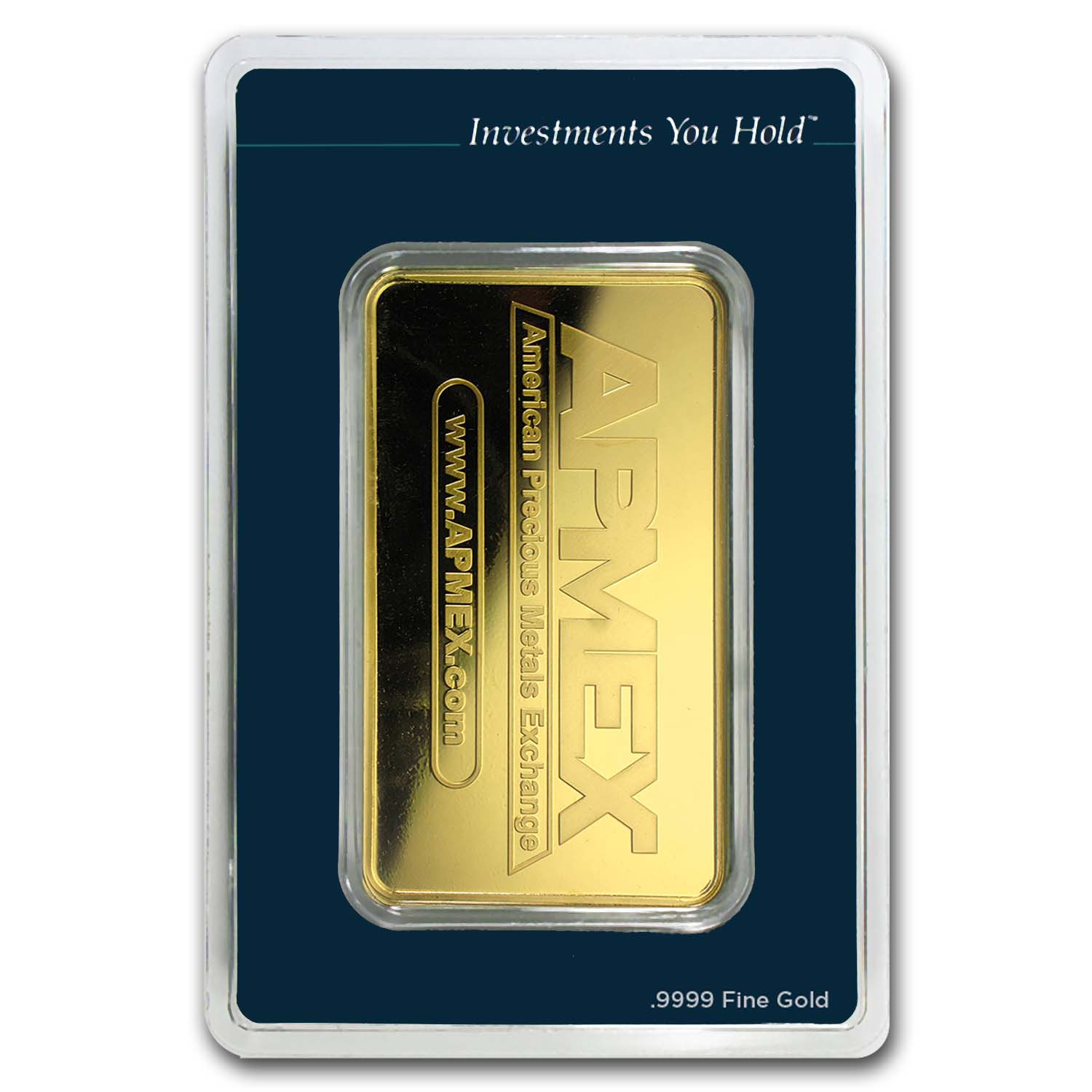 10 oz Gold Bars - APMEX (In TEP Package)