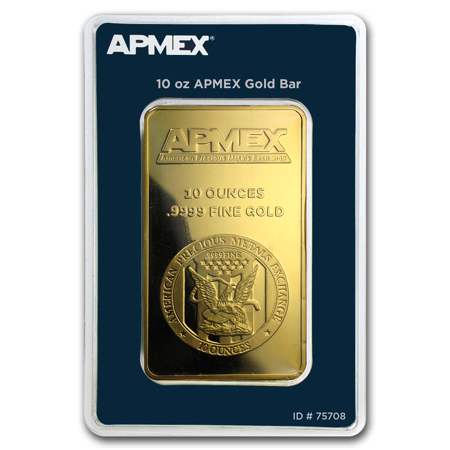 10 Oz Gold Bar Apmex In Tep Package Buy Apmex Gold