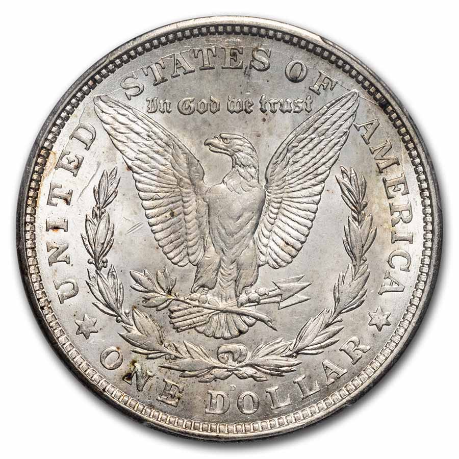 1921-D Morgan Dollar MS-63 PCGS