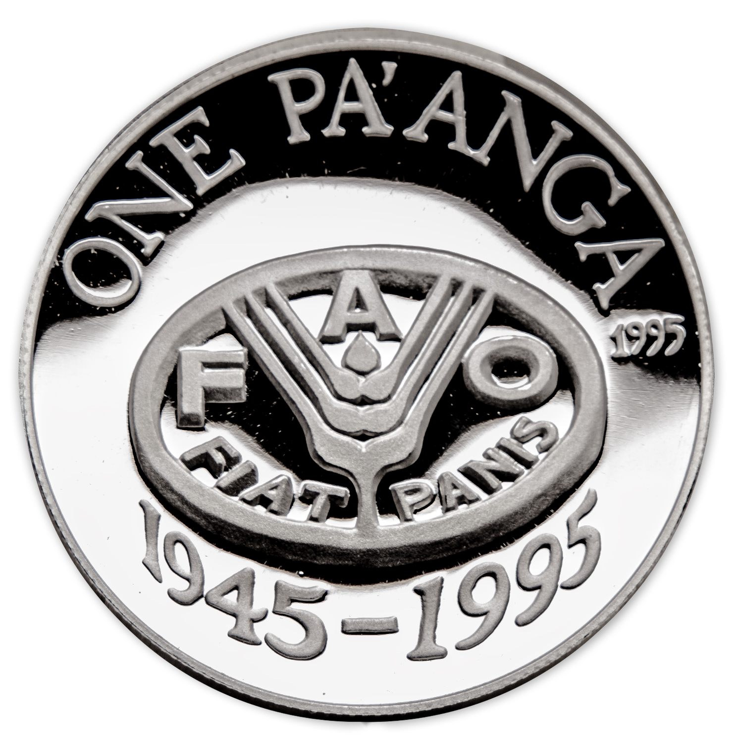Tonga 1995 Silver 1 Pa'anga Proof World Food Day