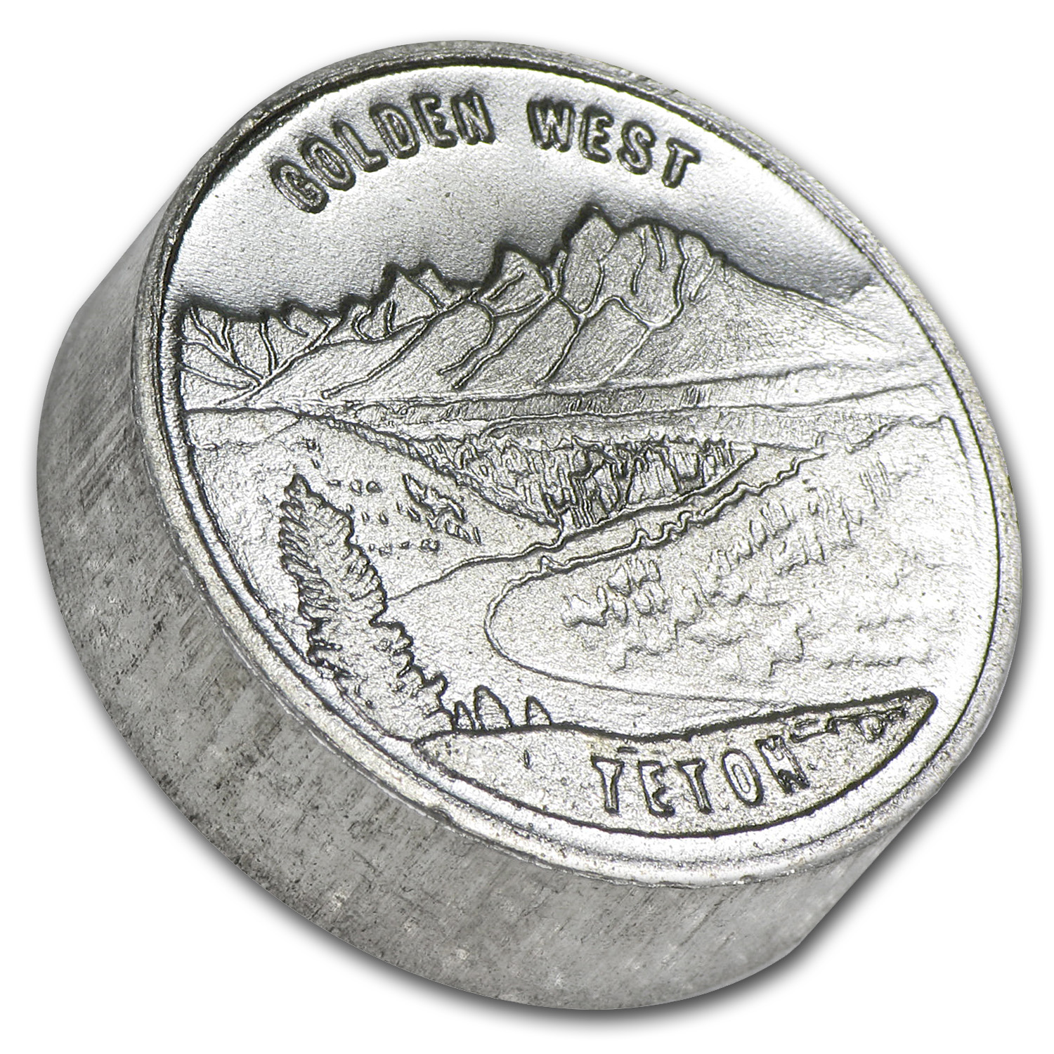 1 oz Silver Rounds - Swiss of America (Golden West)