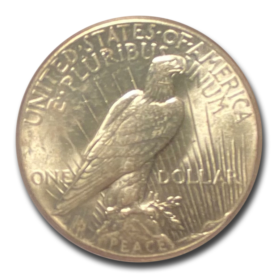 1927 Peace Dollar MS-62 PCGS