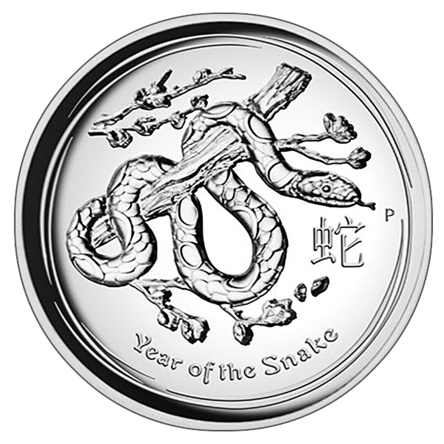 2013 1 oz Silver Snake High Relief Proof PCGS PR-70 DCAM