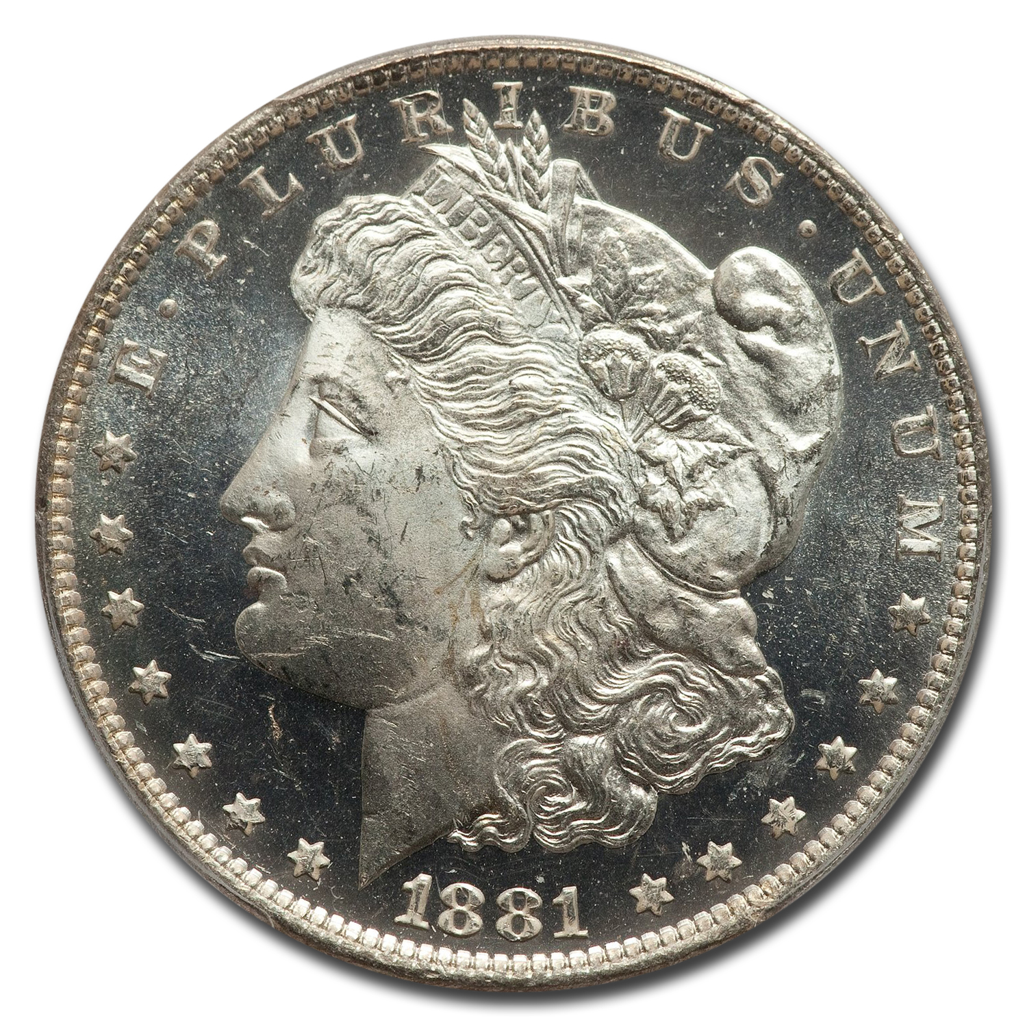 1881-O Morgan Dollar MS-64 DMPL Deep Mirror Proof Like PCGS