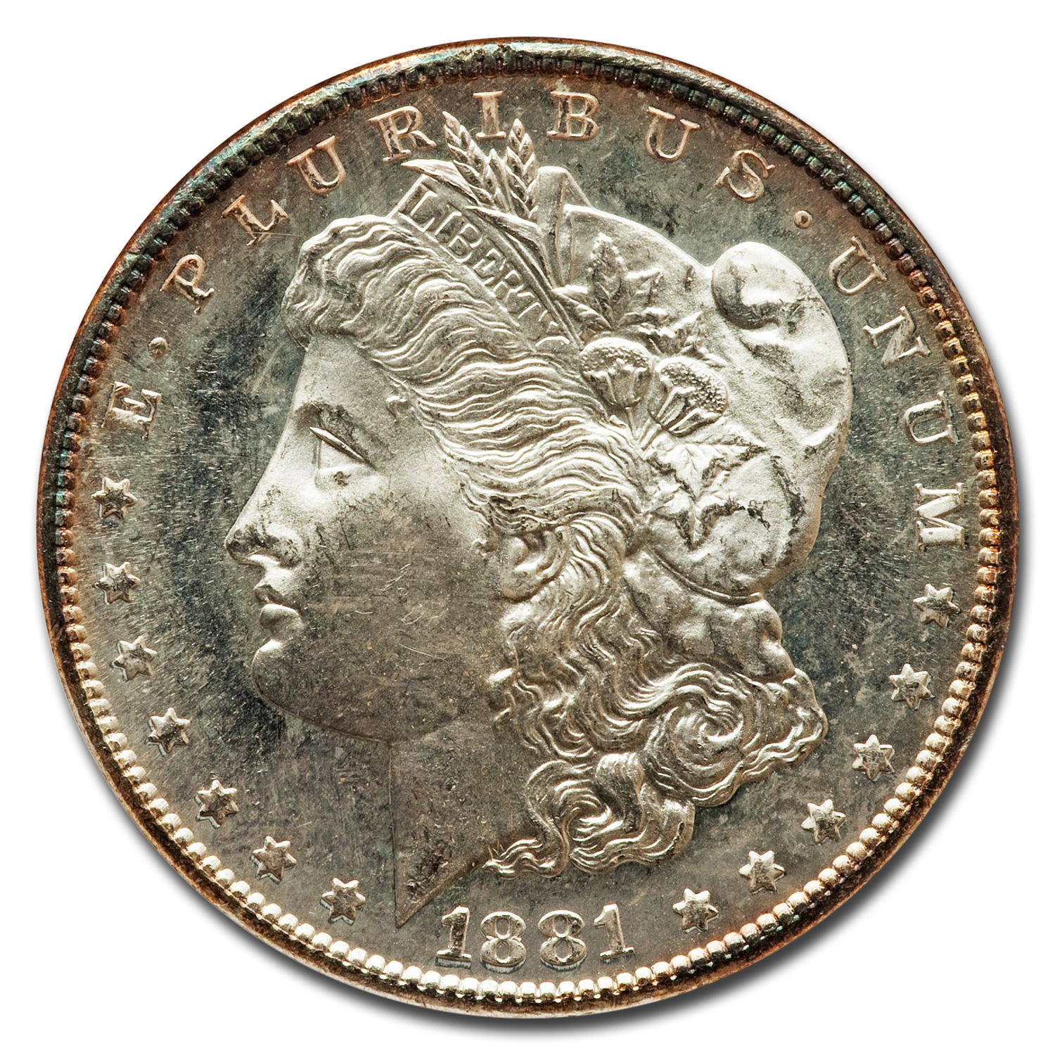 1881-S Morgan Dollar - MS-65 DPL Deep Mirror Proof Like NGC