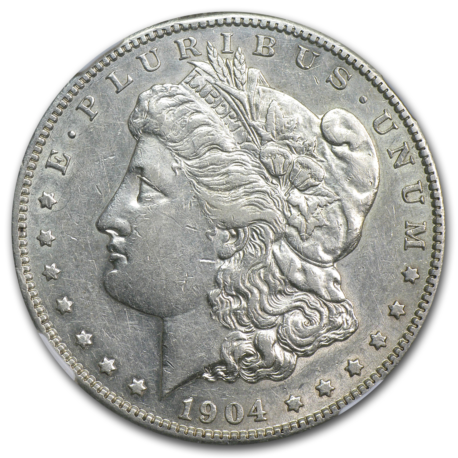 1904-S Morgan Dollar - Almost Uncirculated